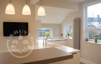 sleek modern designer kitchen Manchester
