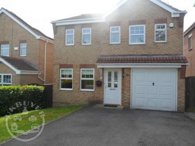 Detached Property, in Hornbeam Close, Hollingwood, Chesterfield
