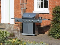 Mastercook 4 Burner Gas BBQ & 2 Side Burners Plus Free Weather Cover