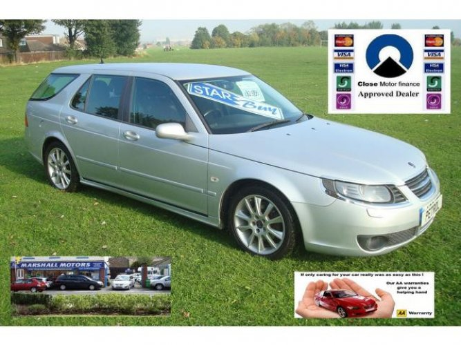 Saab 9-5 2.3t Vector Sport 5dr Auto buy now pay 2015